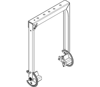 Adamson Sub-Compact Point Source Vertical Bracket